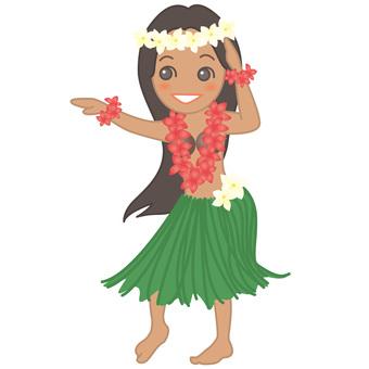 Hula girl 2
