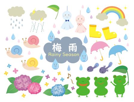 梅雨つめあわせ