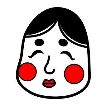 Okamatsu's face