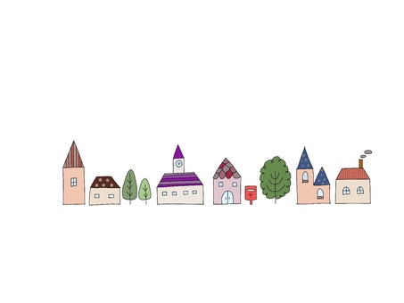 Fashionable cute houses