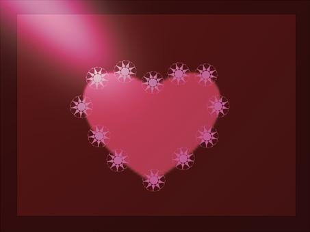 Shimmering Heart