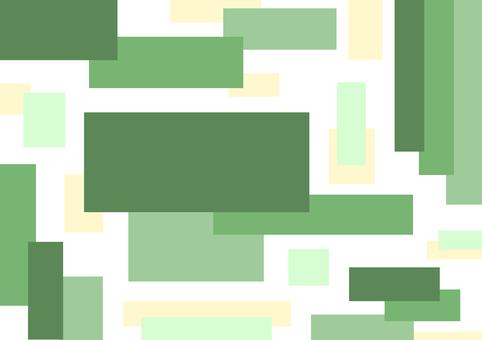 方形圖案1綠色
