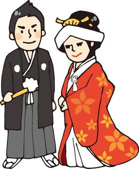 婚禮(和服1)