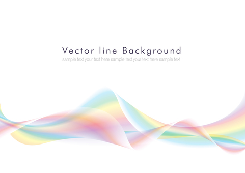Vector abstract background rainbow 01