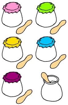Yogurt-style sweets