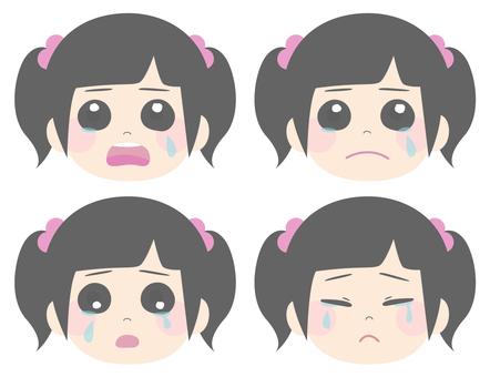 女孩哭4模式
