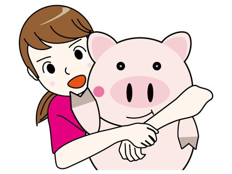Pig, Actually, the volume of motetsu