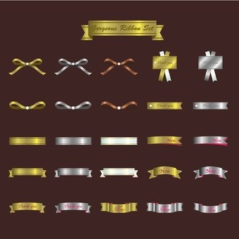 Ribbon illustrations