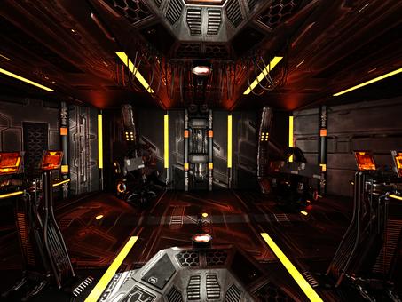 宇宙船コントロール・ルーム