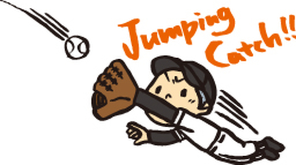 Jumping catch