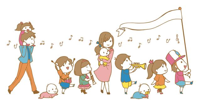 子どもたちのパレード