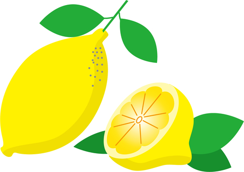 Lemon (with leaves)