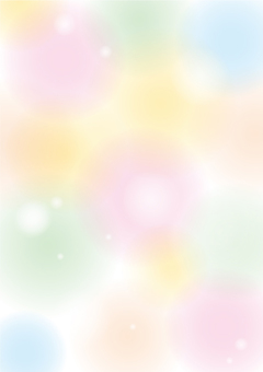 Fluffy background colorfully fresh