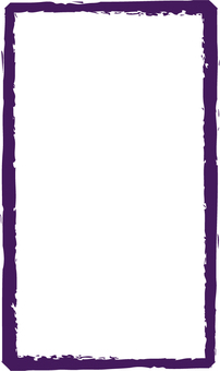 Purple brush frame
