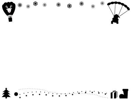 Santa from the sky