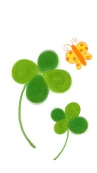 Four leaf clover ②