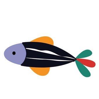 화려한 물고기