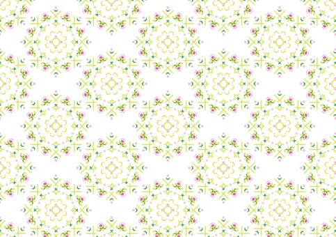 Flower pattern pattern