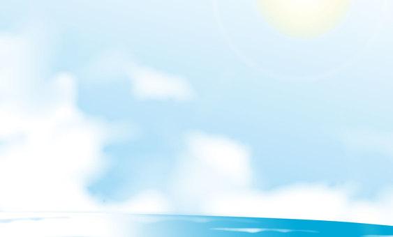 Summer sky 02