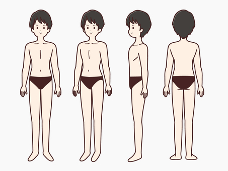 남성의 몸