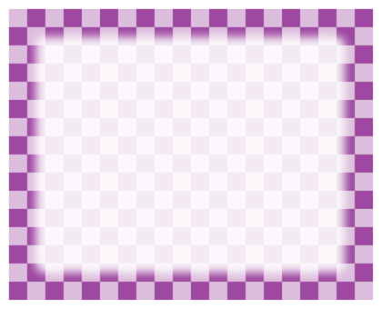 Check frame - purple
