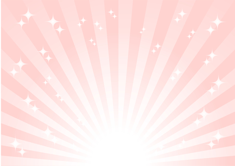 Pink radial glitter background material