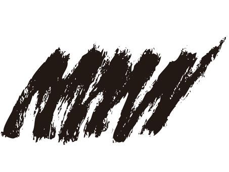 Shaded (brush) Black