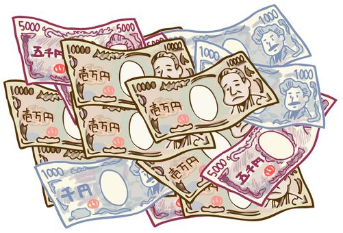 Illustration of a bill