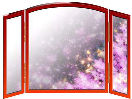 Luxurious cherry blossom screen 02