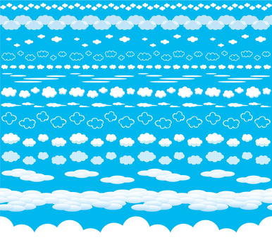 Cloud decorating ruling set 01