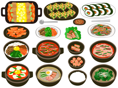 韓國料理套餐