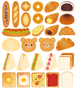 Various breads