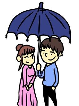 Matching umbrella