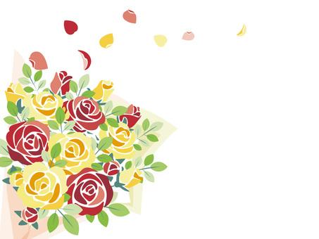 バラの花束4