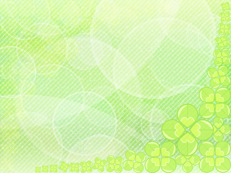 Four leaf clover background 002