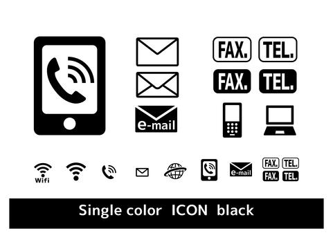 Smartphone Phone Market Icon Set