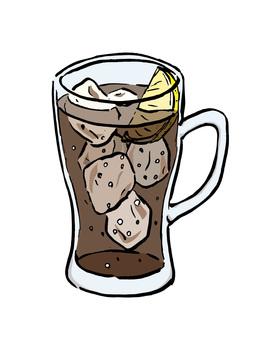 Cork high mug