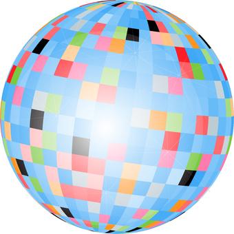 Mirror ball - 001