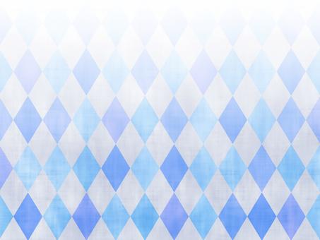 Blue diamond (Argyle) pattern background