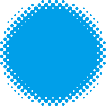 Yen _ blur _ dots _ light blue