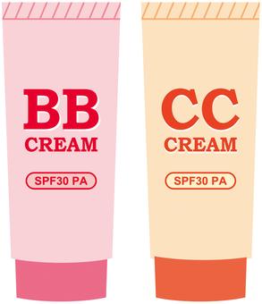 BB, CC cream