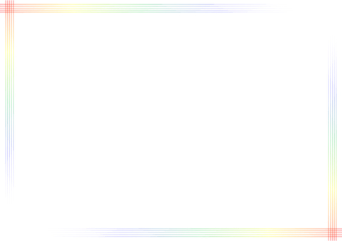 "Frame ""Simple iridescent line"" -2"