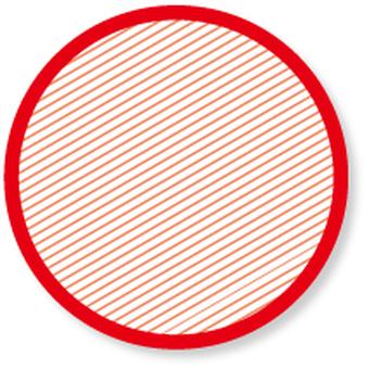 Stripe pattern - red