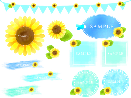 Sunflower set 2