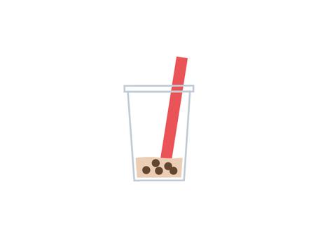 Leftover tapioca drink