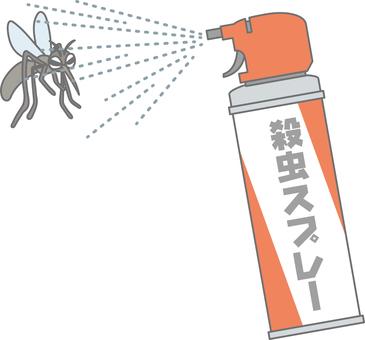 모기 (코믹)와 살충제