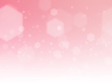 Texture fantastic hexagonal pink