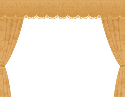 宮殿の窓_フレーム