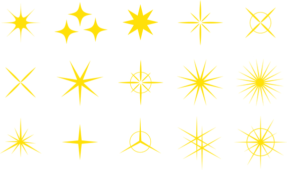 Illustration Free Glitter Star