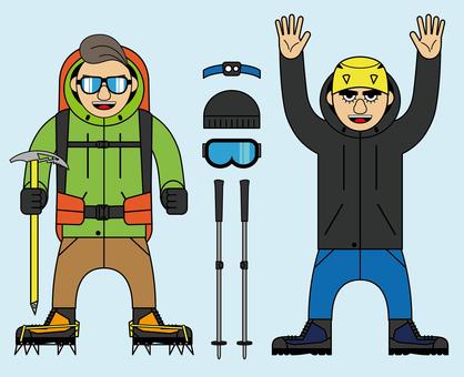 Mountaineer_climber_hill climber